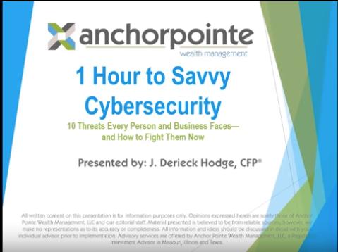 Cybersecurity We