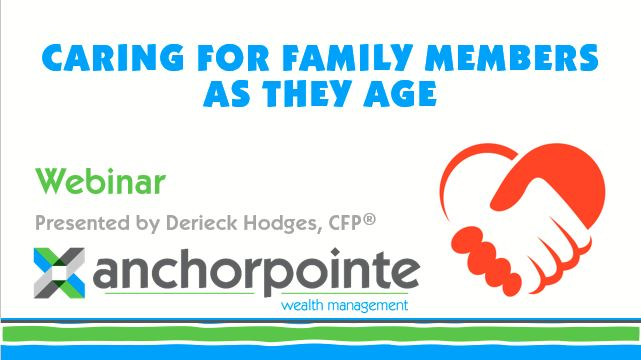 Webinar Page - Caring for Family Members as they age